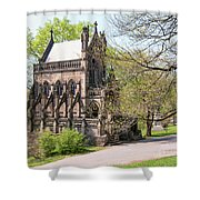 The Gothic Temple In Spring Grove Cemetery Shower Curtain