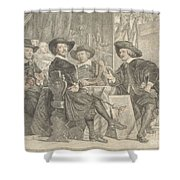 The Governors Of The Longbow Archers Shower Curtain