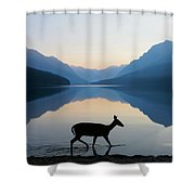 The Grace Of Wild Things Shower Curtain