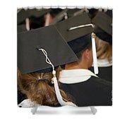 The Graduates Shower Curtain