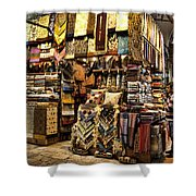 The Grand Bazaar In Istanbul Turkey Shower Curtain by David Smith