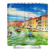 The Grand Canal Venice  Shower Curtain