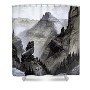 The Grand Canyon Drawing            Shower Curtain