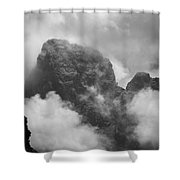 The Grand From Paintbrush Divide Shower Curtain