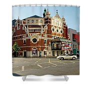 The Grand Opera House On Great Victoria Street, Belfast Shower Curtain