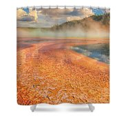 The Grand Prismatic Shower Curtain