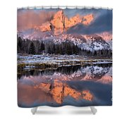 The Grand Teton Shower Curtain
