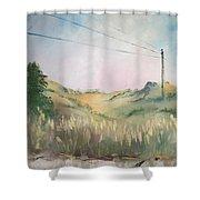 The Grass Shower Curtain