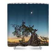 The Great American Eclipse On August 21 2017 Shower Curtain