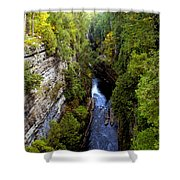 The Great Chasm Shower Curtain