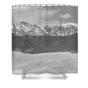 The Great Colorado Sand Dunes  Shower Curtain
