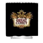 The Great Comet Shower Curtain
