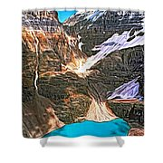 The Great Divide - Paint Shower Curtain