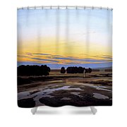 The Great Enclosure Near Dresden Shower Curtain