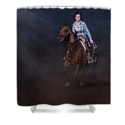 The Great Escape Shower Curtain by Susan Candelario