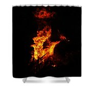 The Great Fire Shower Curtain