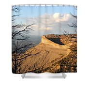 The Great Mesa Shower Curtain