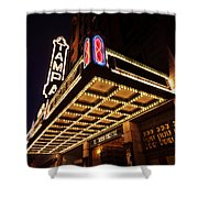 The Great Movie Marquee Shower Curtain