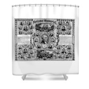 The Great National Memorial Shower Curtain