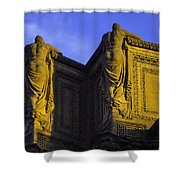 The Great Palace Of Fine Arts Shower Curtain