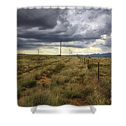 The Great Plains Of New Mexico Shower Curtain