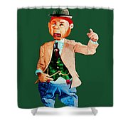 The Great Pontificator Shower Curtain