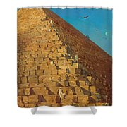 The Great Pyramid. Giza Shower Curtain
