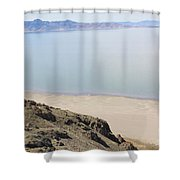 The Great Salt Lake 2 Shower Curtain