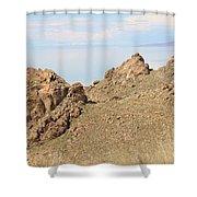 The Great Salt Lake 8 Shower Curtain