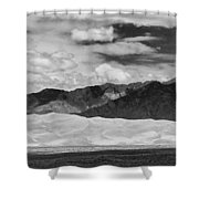 The Great Sand Dunes Panorama 2 Shower Curtain