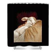 The Great Shepherd's Love Shower Curtain