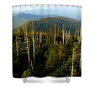 The Great Smoky Mountains Shower Curtain
