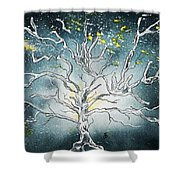 The Great Tree Shower Curtain