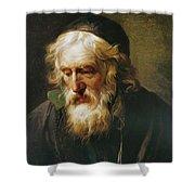 The Greek Priest Shower Curtain