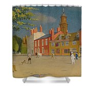 The Green At Banbury Shower Curtain