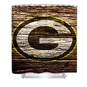 The Green Bay Packers 1b Shower Curtain