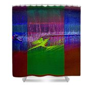 The Green Dragon Shower Curtain