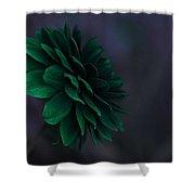 The Green Flower 2 Shower Curtain