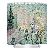 The Green House, Venice Shower Curtain