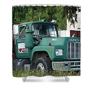 The Green Mack Shower Curtain