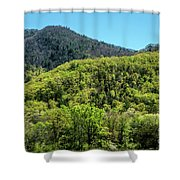 The Greening Of Spring Shower Curtain