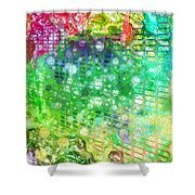 The Grid Shower Curtain