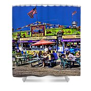 The Grill House Shower Curtain