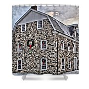 The Grist Mill And Ye Old Tavern Shower Curtain