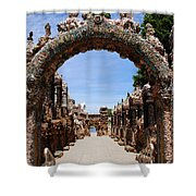 The Grotto Of Redemption Shower Curtain