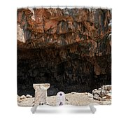 The Grotto Of The God Pan Shower Curtain