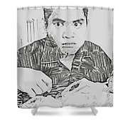 The Grouch Shower Curtain