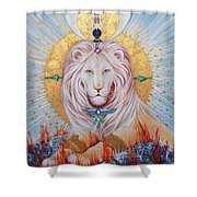 The Guardian Of Wisdom Shower Curtain