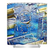 The Guardian Shower Curtain by Tim Allen