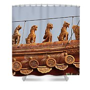 The Guardians Of The Forbidden City Shower Curtain
